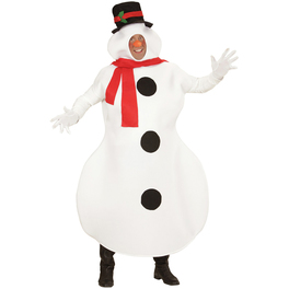 Déguisement bonhomme de neige homme