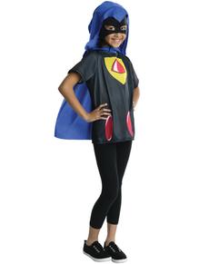 Kit costume Raven Teen Titans Go fille