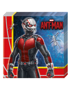 20 serviettes Ant-Man