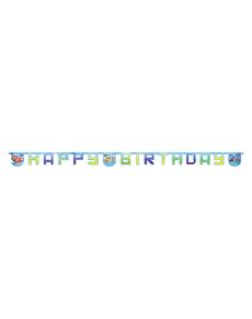 Guirlande Happy birthday Cars Ice