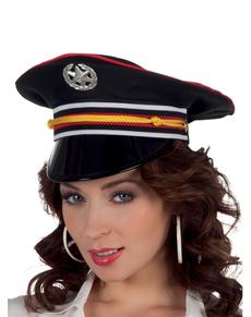 Chapeau commandant femme