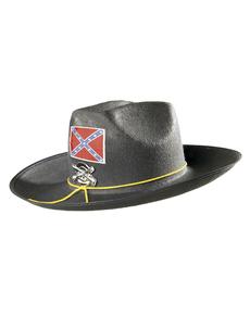 Chapeau confédéré américain homme