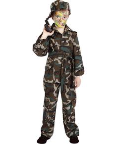 Déguisement de camouflage pour garçon